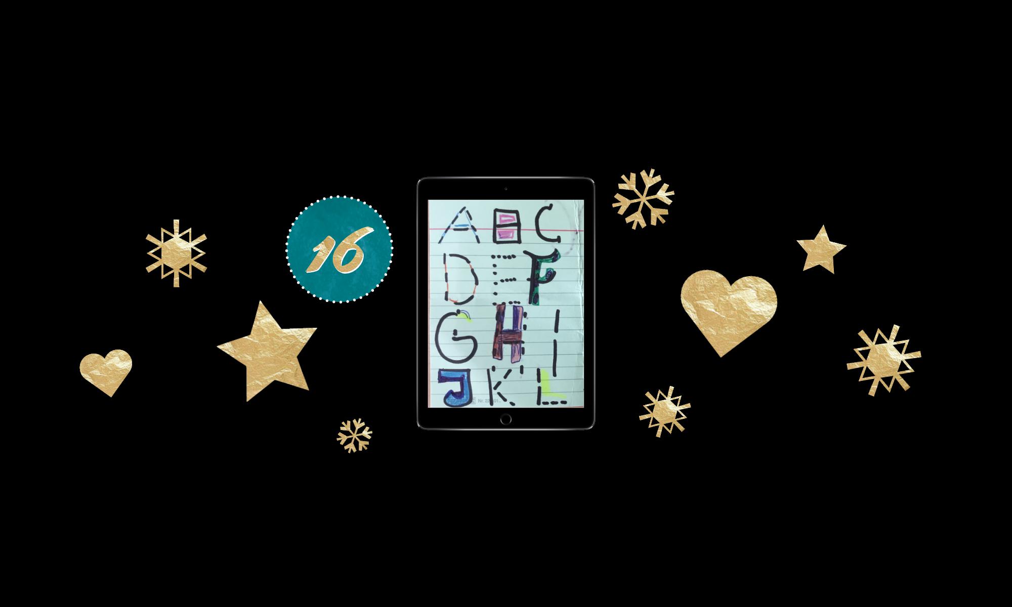 ABC – Sprachförderung mit eigenem Buch